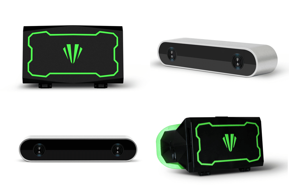 teleport vr camera and headset